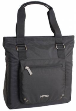 Tote Bag, Black, Nitro