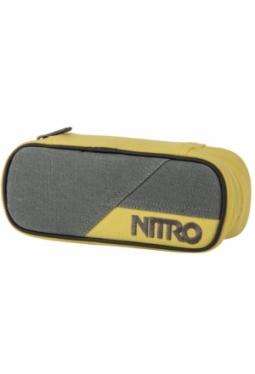 Pencil Case, Gunmetal, Nitro