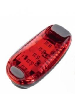 LED Klemmleuchten, Rot, 3 Blinkmoduse,..