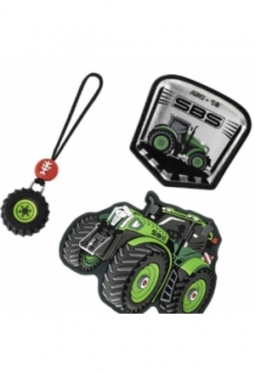 Magic Mags, Green Tractort, Step by Step