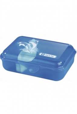 Lunch Box, Happy Dolphins, Step by Step