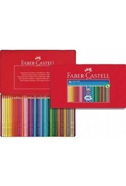 Farbschachtel Colour Grip, 36 Schachtel, Faber-Castell