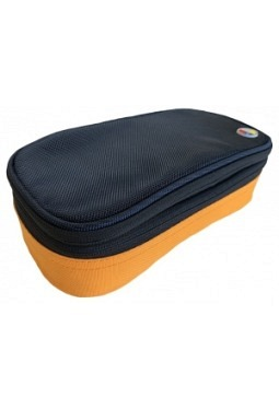 Pencil Case Typ 222, 4C, Orange